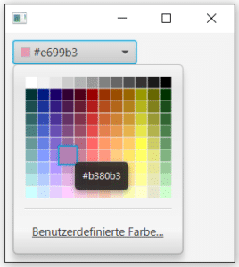 Color Picker in JavaFX