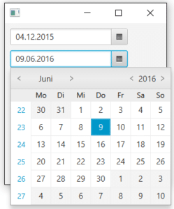 Date Picker in JavaFX 2