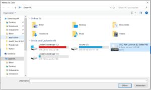 File Chooser in JavaFX