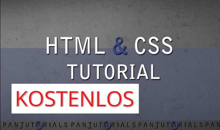HTML & CSS Tutorial für Anfänger